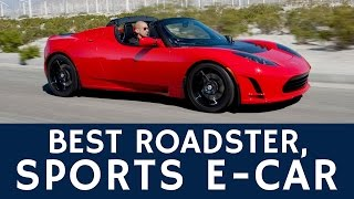 First Fully Electric Convertible Sports Car: Tesla Roadster