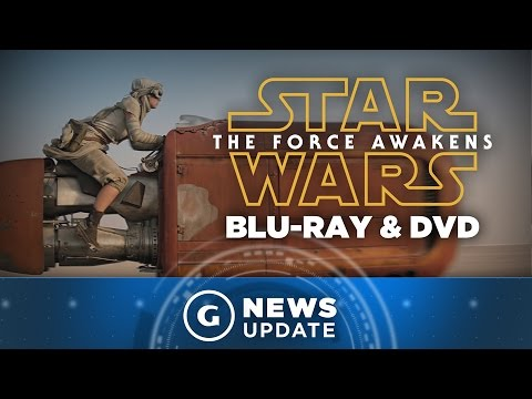 Star Wars 7 Blu-ray and DVD Release Date Revealed - GS News Update