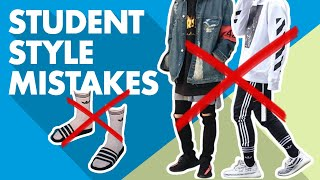 Back to School Style Mistakes Men Make
