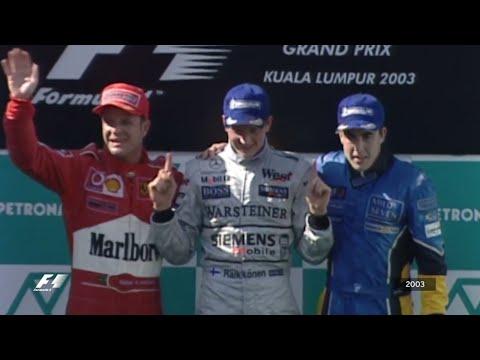 Your Favourite Malaysian Grand Prix - 2003 Raikkonen's First Win, Alonso's First Podium