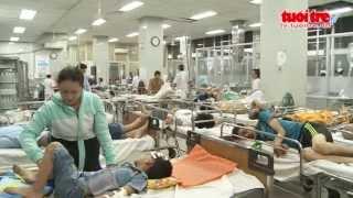 Một đêm trực ở phòng cấp cứu