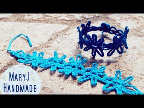 動画で解説♪編み物で作る色々な「ブレスレット」まとめ♡ビーズ,お花,可愛い