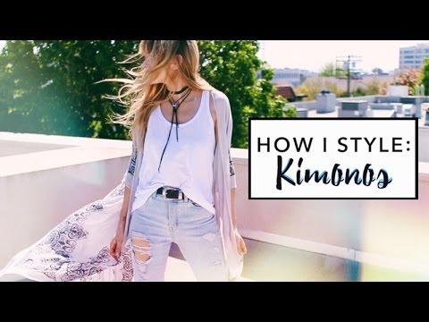 How I Style: Kimonos | Lana