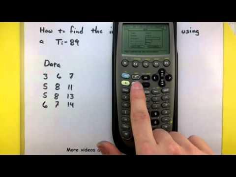 Statistics compute the interquartile range using a ti 89 youtube ccuart Choice Image