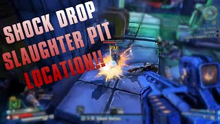 BORDERLANDS: The Pre-Sequel - Shock Drop Slaughter Pit Location! + Vault Symbols!