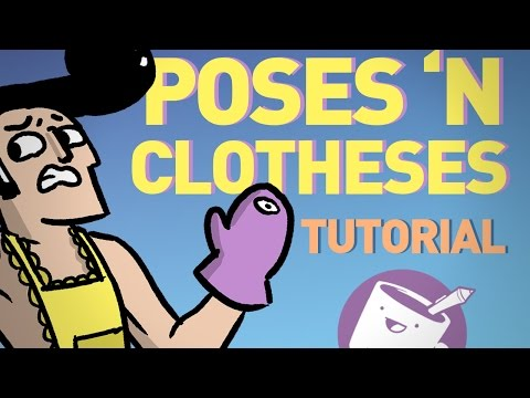 How to Draw Dynamic Poses and Clothed Figures