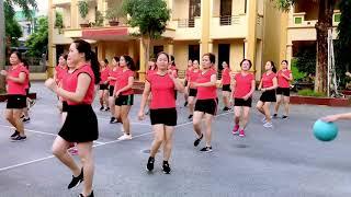 Nhảy Khiêu Vũ Tập Thể - Vũ Điệu Tây Bắc - Bà Anh Vlogs Hoàng Xá Thanh Thủy Phú Thọ