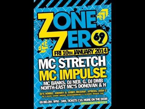 DJ HOBBZ  MC ELEMENT & MC DONOVAN @ ZONE ZERO GLASGOW