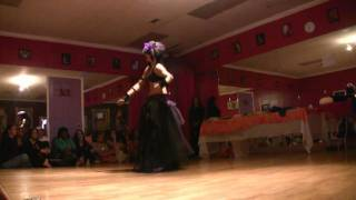 Verrina - Gothic / Tribal Fusion Belly Dance - March 2010