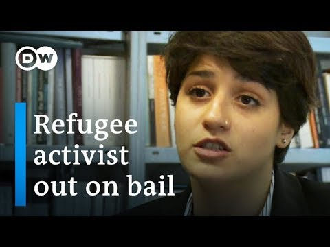 Syrian refugee activist released from Greek prison | DW News