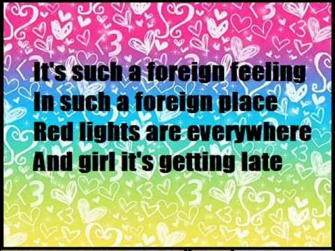 M Pokora - Tokyo Girl - Lyrics 2008