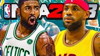 Kyrie Irving VS LeBron James! - NBA 2K18 with SideArms!