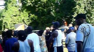 Extream Bling - Eastside Backyard Brawl Chi-co vs. Cutter from ATL ROUND 2