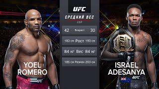 Исраэль Адесанья vs Йоэль Ромеро БОЙ в UFC / UFC 248