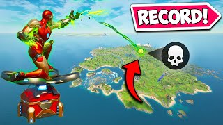 *WORLD RECORD* LONGEST GAUNTLET KILL EVER!! - Fortnite Funny Fails and WTF Moments! #1020