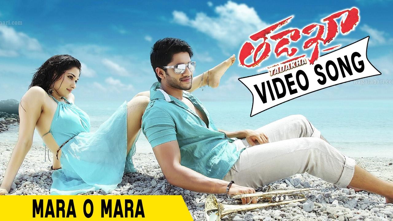 Mara o mara video song    tadakha video songs    naga chaitanya.