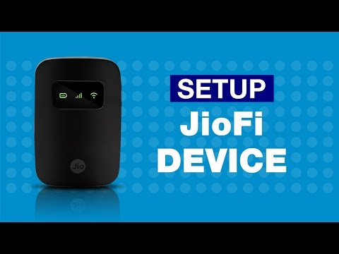 JioFi - How to Setup your JioFi Device | Reliance Jio