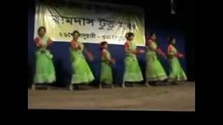 Santali album song group dance by Serma Ipil Rusika Madowa, Bali(Kolkata)  in Jhargram Mela.