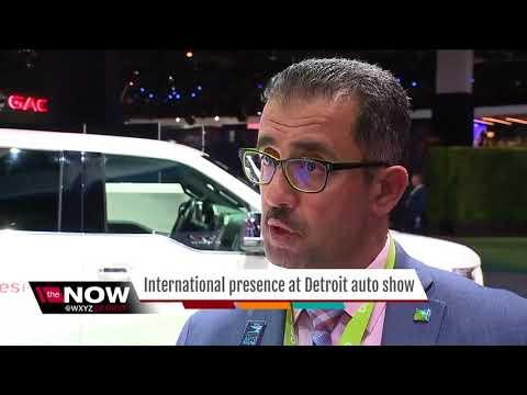 International presence at the North American International Auto Show