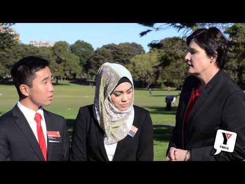 Jodi McKay MP talks to Youth MPs