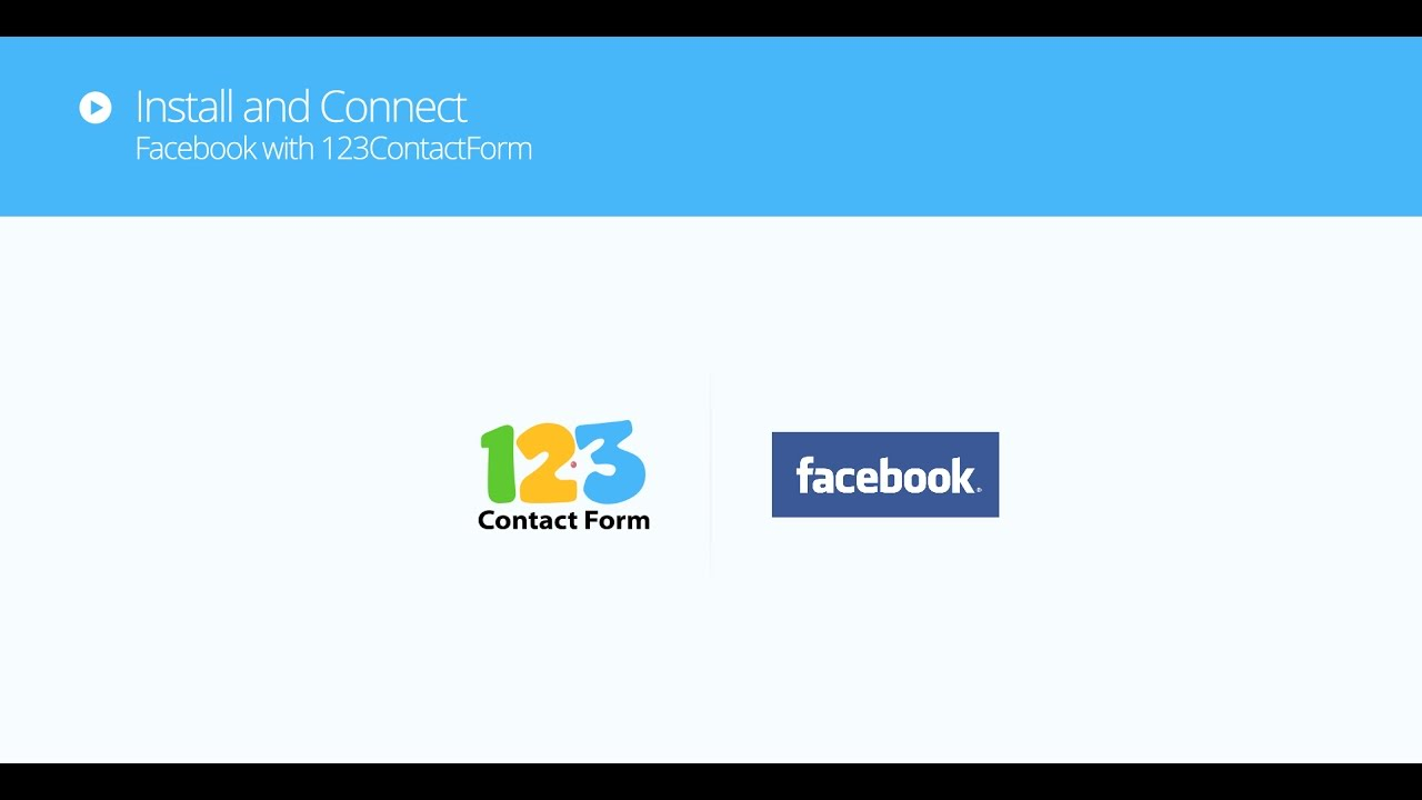 How to publish 123FormBuilder web forms on your Facebook pages?