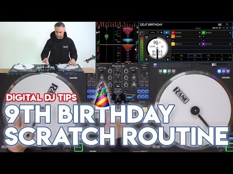 Check Out Our 9th Birthday Scratch Routine By DJ Rasp - Rane Twelves, Pioneer DJ DJM-S9 & Serato DJ