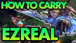 HOW TO ACTUALLY CARRY AS EZREAL ADC - League of Legends Commentary