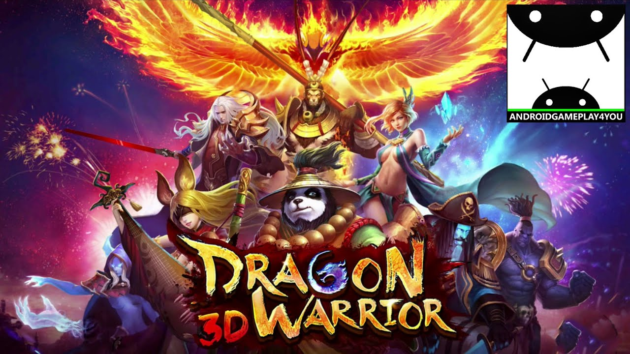 Dragon Warrior 3D Android GamePlay Trailer [1080p 60FPS] (By Siamgame Mobile)