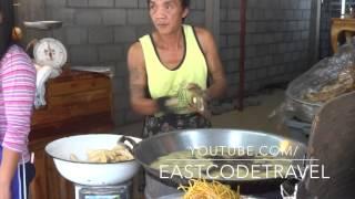 Crispy Fried Green Banana Frying  Thai Snack Food