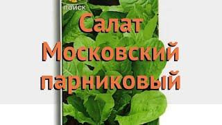 Салат обыкновенный Московский парниковый Листовой 🌿 обзор: как сажать, семена салата