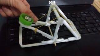 как сделать катапульту из бумаги