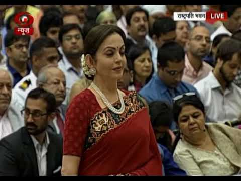 Nita Ambani receives National Sports Award  for Reliance Foundation