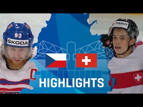 Czech Republic - Switzerland | Highlights | #IIHFWorlds 2017