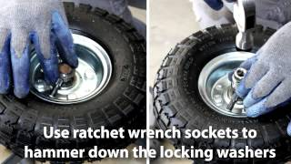 How to Change Moving Dolly Wheel  / Dolly repair/ Dolly Fix