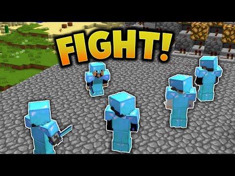 CANNON RAID FIGHT!    Minecraft FACTIONS #582