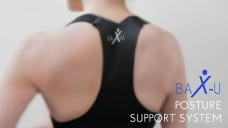 BaX-u Posture Corrector - A better posture brace - Improve your posture today