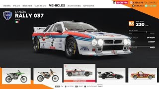 Lancia Rally 037 (RX) Customization & Race - Dallas (Normal)