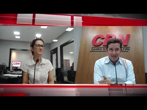 CBN Campo Grande: Andreia Peres
