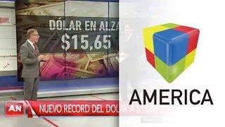 Nuevo récord del precio del dólar e intervención del Central para frenar la suba