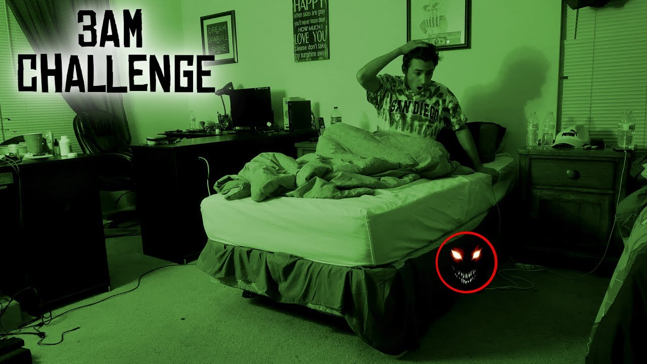 do not record yourself sleeping at 3 am 3 am sleeping challenge