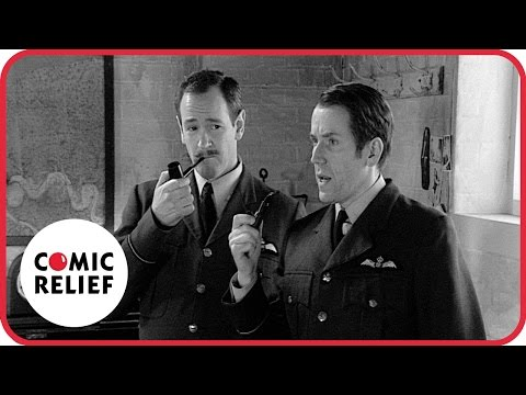 Armstrong, Miller, Mitchell & Webb as WW2 Pilots | Comic Relief