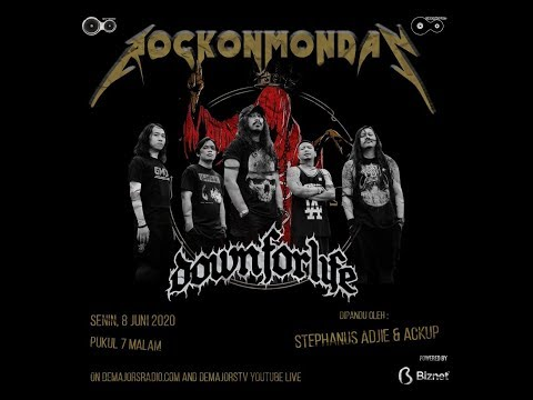 demajorsradio.com - #ROM ''Rock On Monday'' with Down For Life #SIaranDirumahAja