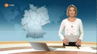Zu Hause bei Mario Gomez - Unlingen feiert seinen Helden (ZDF heute in Deutschland 15.06.2012)