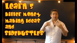 5 Killer Online Money Making Ideas - Start Your Side Hustles That Get You Paid