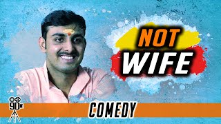 Not Wife | Funny Interview | Hindi Short Film | English subtitles | 9D Production