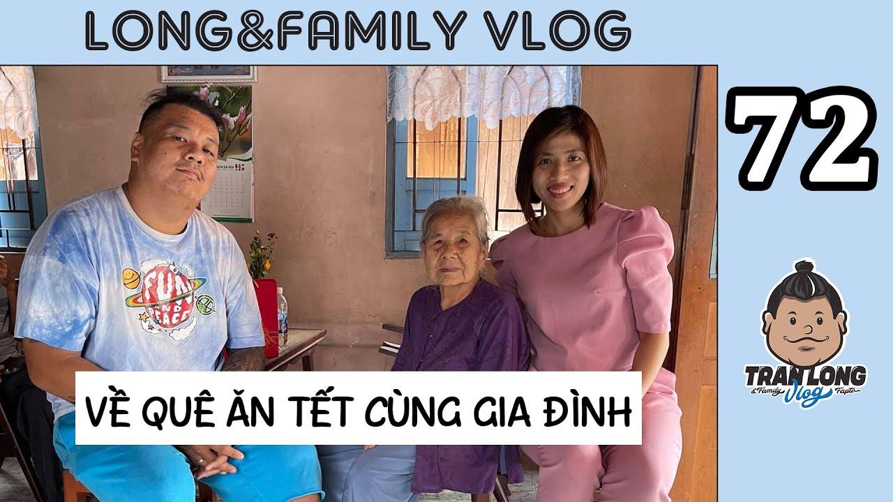 Long&Family Vlog TẬP 72: LONG BỂ VỀ QUÊ ĂN SẬP MIỀN TÂY - BÀO SẠCH TRÁI CÂY