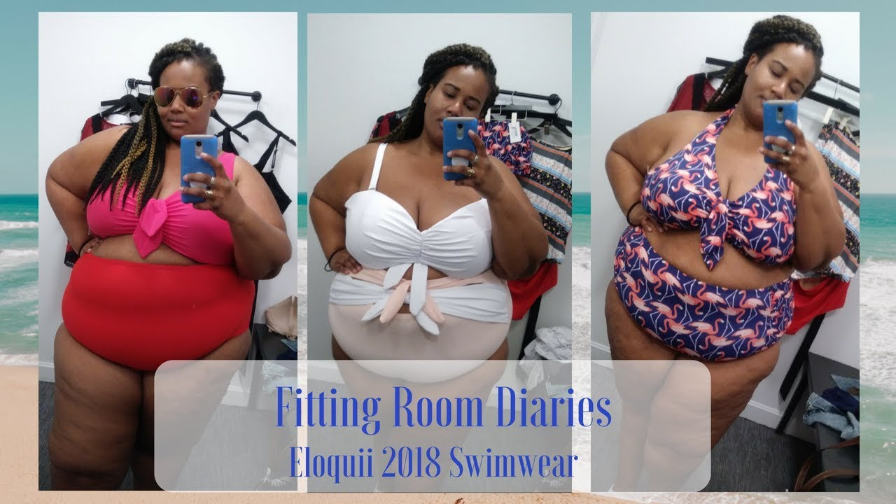 70a8fd75495 Fitting Room Diaries| Eloquii 2018 Swimwear - YouTube
