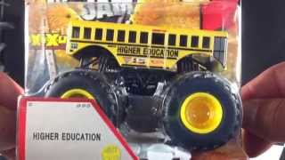 Hot Wheels Monster Jam New For 2013 Higher Education!