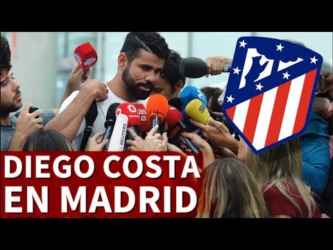 Diego Costa ya está en Madrid | Diario AS