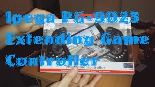 Ipega PG-9023 Extending Game Controller Unboxing